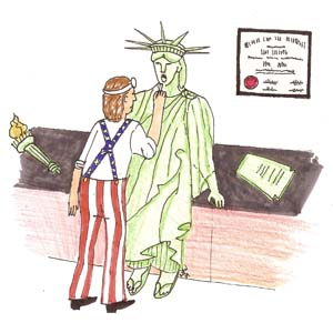 Liberty Checkup by Natalie Whitson